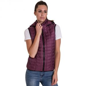Outdoor Look Womens/Ladies Ballater Hooded Padded Gilet Body Warmer