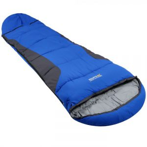 Hilo Boost Expandable Sleeping Bag Oxford Blue Ebony