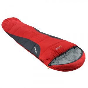 Hilo 300 Double Layer Lined Ripstop Mummy Sleeping Bag Pepper Red