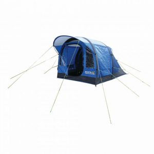 Kolima 3-Man Inflatable Family Tent Laser Blue Ebony Grey