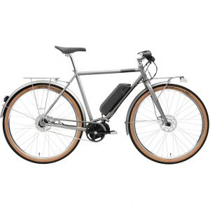 Creme Ristretto ON+ Solo Electric Bike Grey 2020