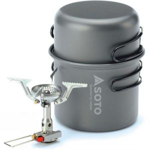 Soto Amicus Stove and Cook Set Combo