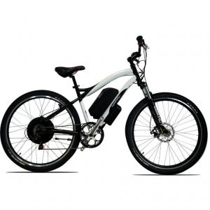 Cyclotricity Stealth 1000w Dual Power Mountain Electric Bike