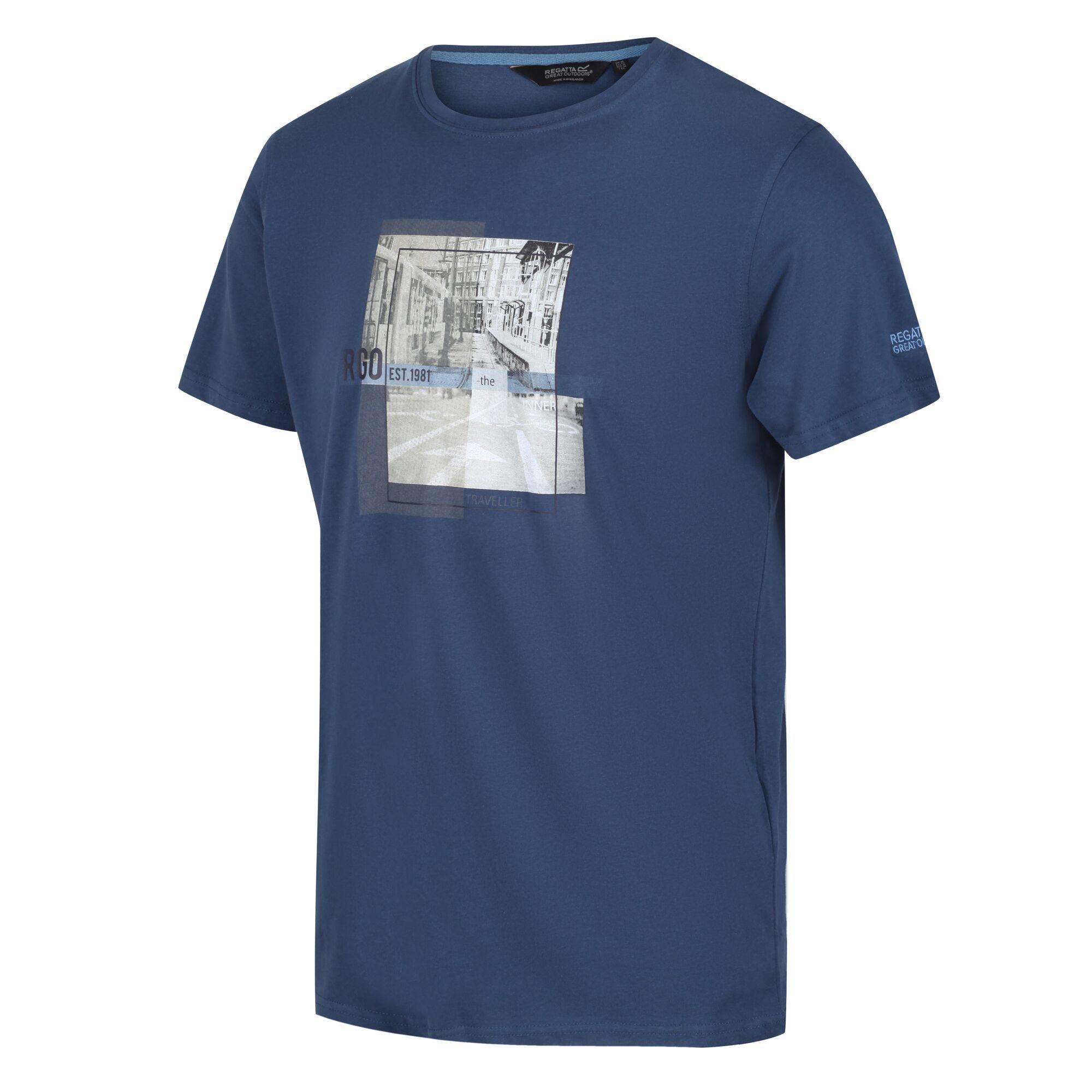 Men's Cline IV Graphic T-Shirt Dark Denim
