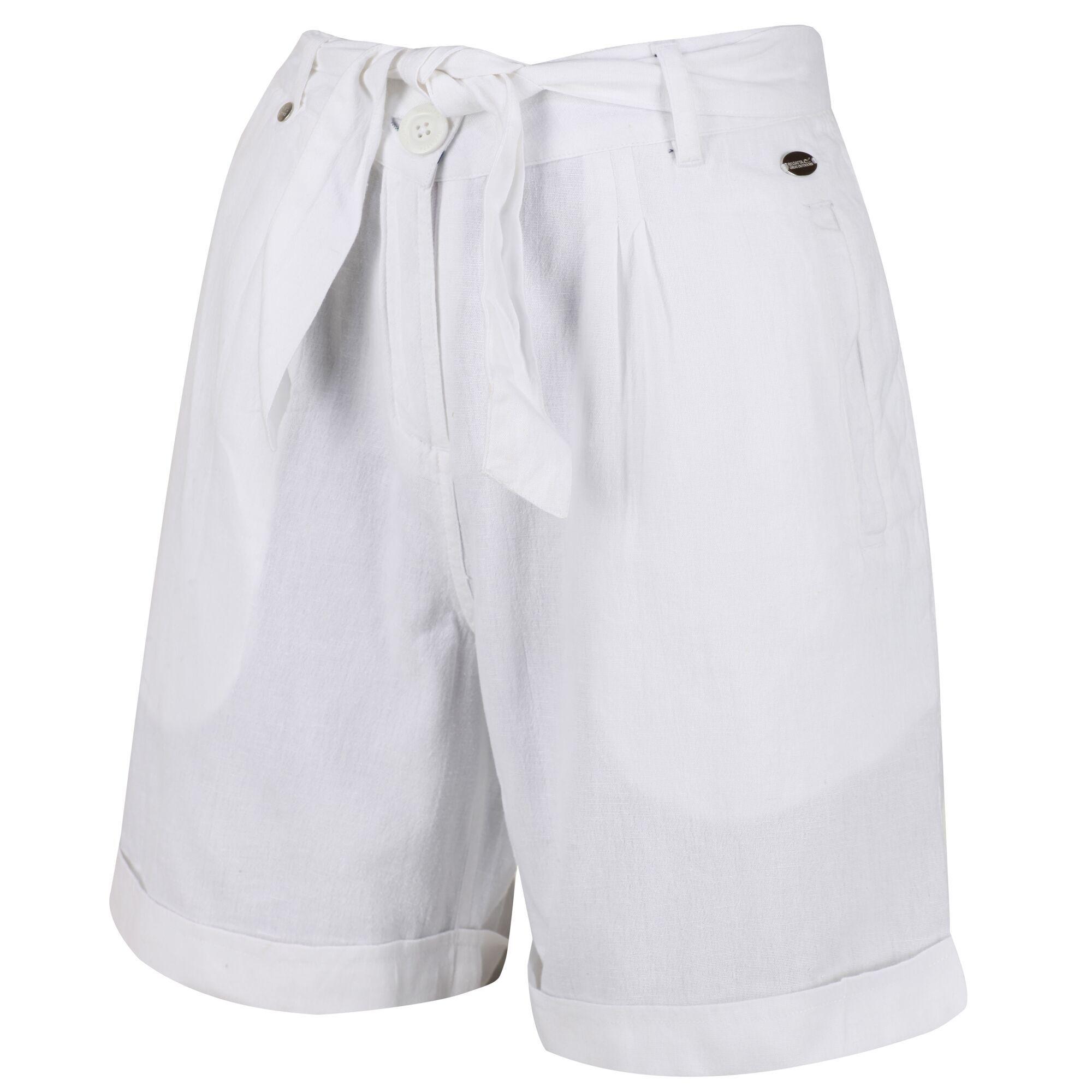 Women's Samira Casual Shorts White
