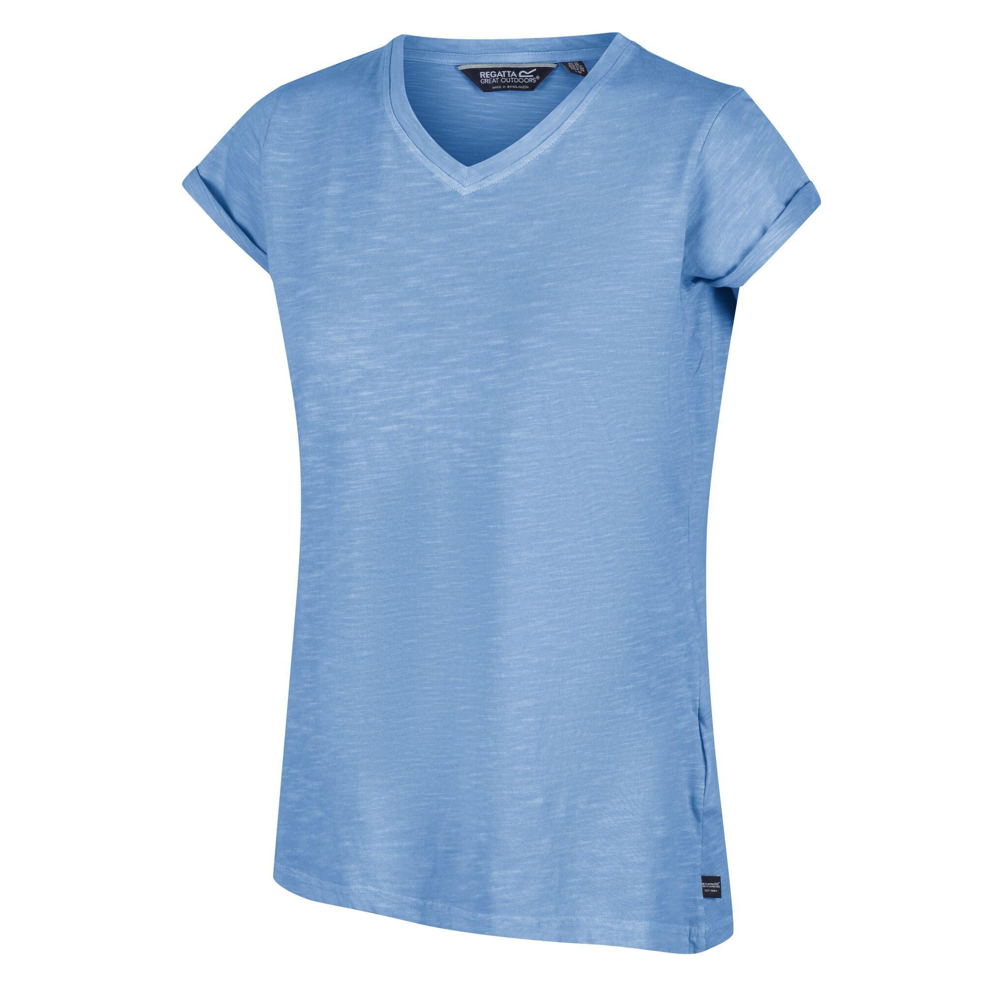 Women's Fyadora Coolweave T-Shirt Blueskies