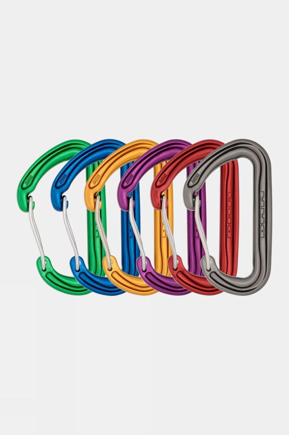 DMM Spectre Colour 6 Pack Assorted Carabiners