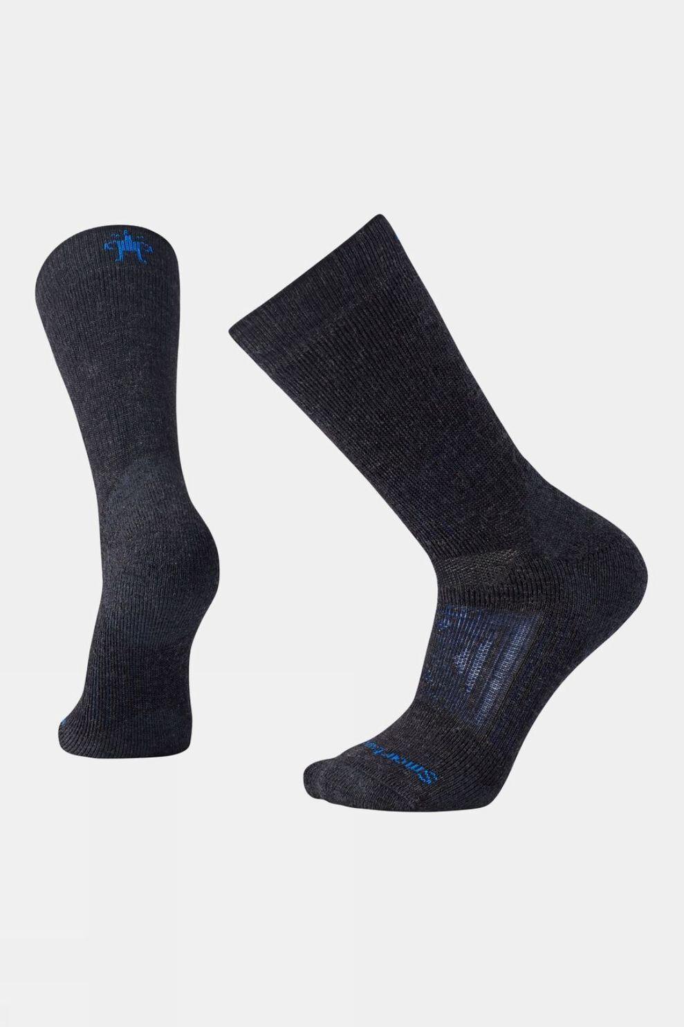 SmartWool Mens Performance Mountaineer Extra Cushion Crew Socks